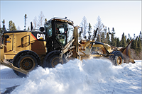 Selecting a Heavy Equipment Engine Precleaner for Winter Weather