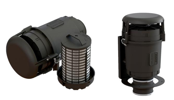 Sy-Klone Vortex Max High-Airflow Powered Engine Precleaner