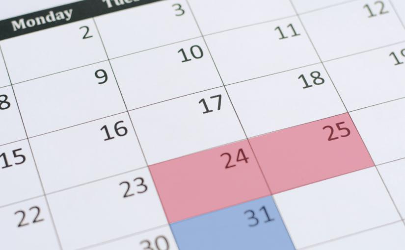 Upcoming Office and Warehouse Closure Dates