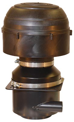 OPTIMAX 9002 Generic Assembly - Top Flange - 500 to 650 CFM (14.16 to 18.41 m3/m)