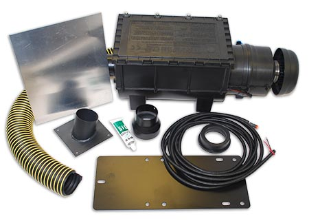 RESPA-SD Cab Air Quality System Complete Kit  - Cat 826G Specific