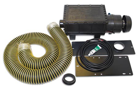 RESPA-SD Cab Air Quality System Complete Kit  - Cat D6R/D8R Specific