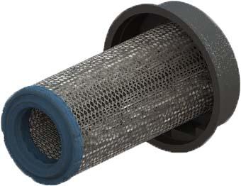 RadialSHIELD: Engine - XLR Powered Precleaner High Efficiency Prefilter - Extended Length